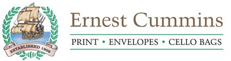 Ernest Cummins - Printers logo